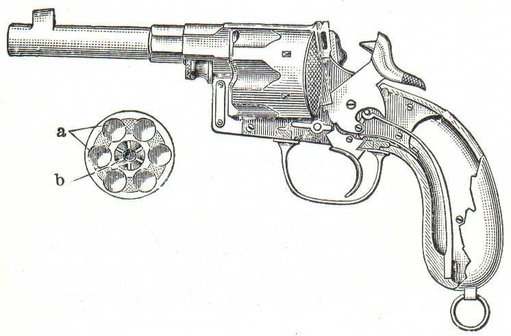 Германский револьвер обр.