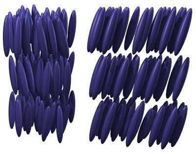 Новый способ ориентации жидких кристаллов