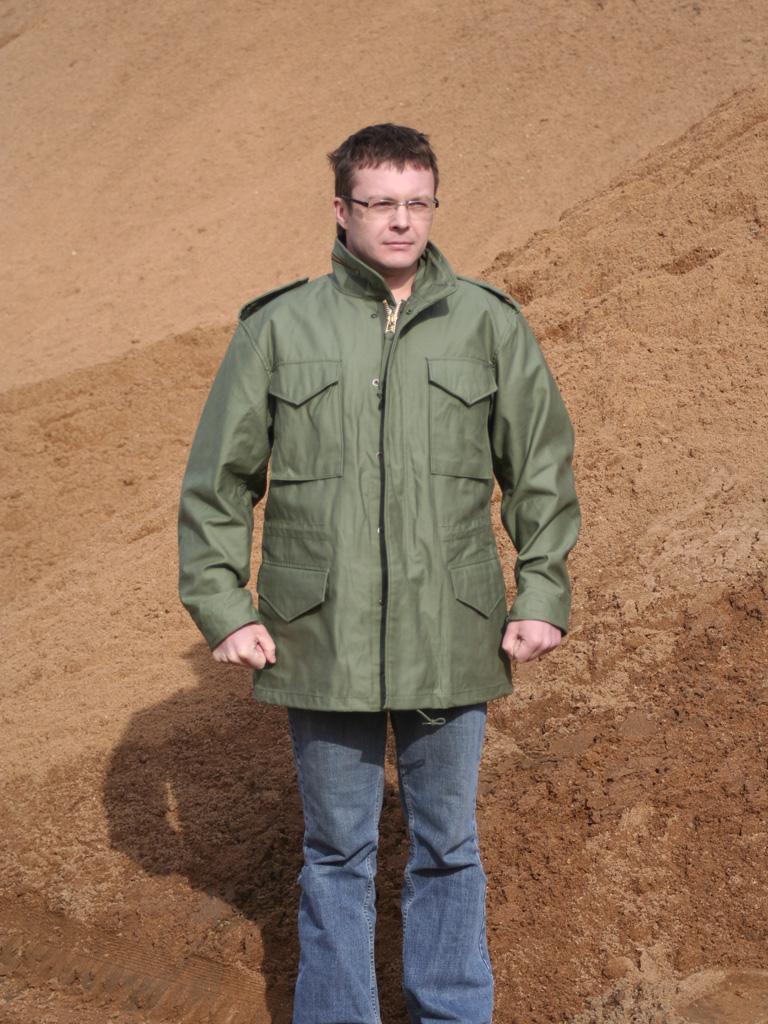 Куртка M65 (англ.  M-1965 Field Jacket) - популярная полевая куртка...