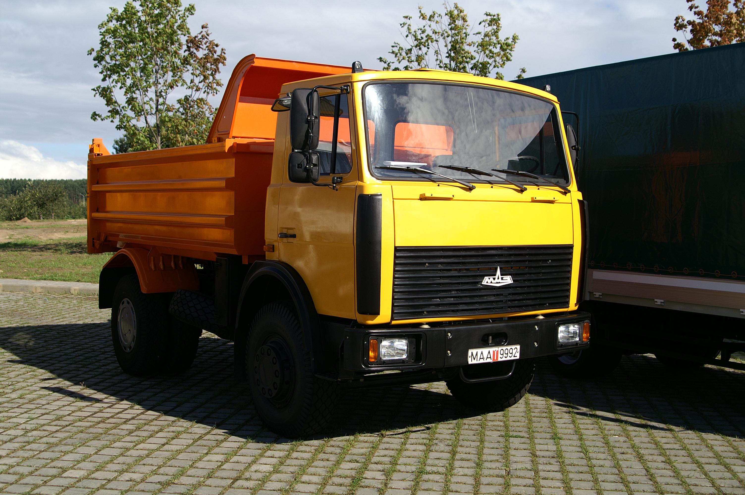 Самосвал МАЗ грузоподъёмность 10 тонн в Ижевске.