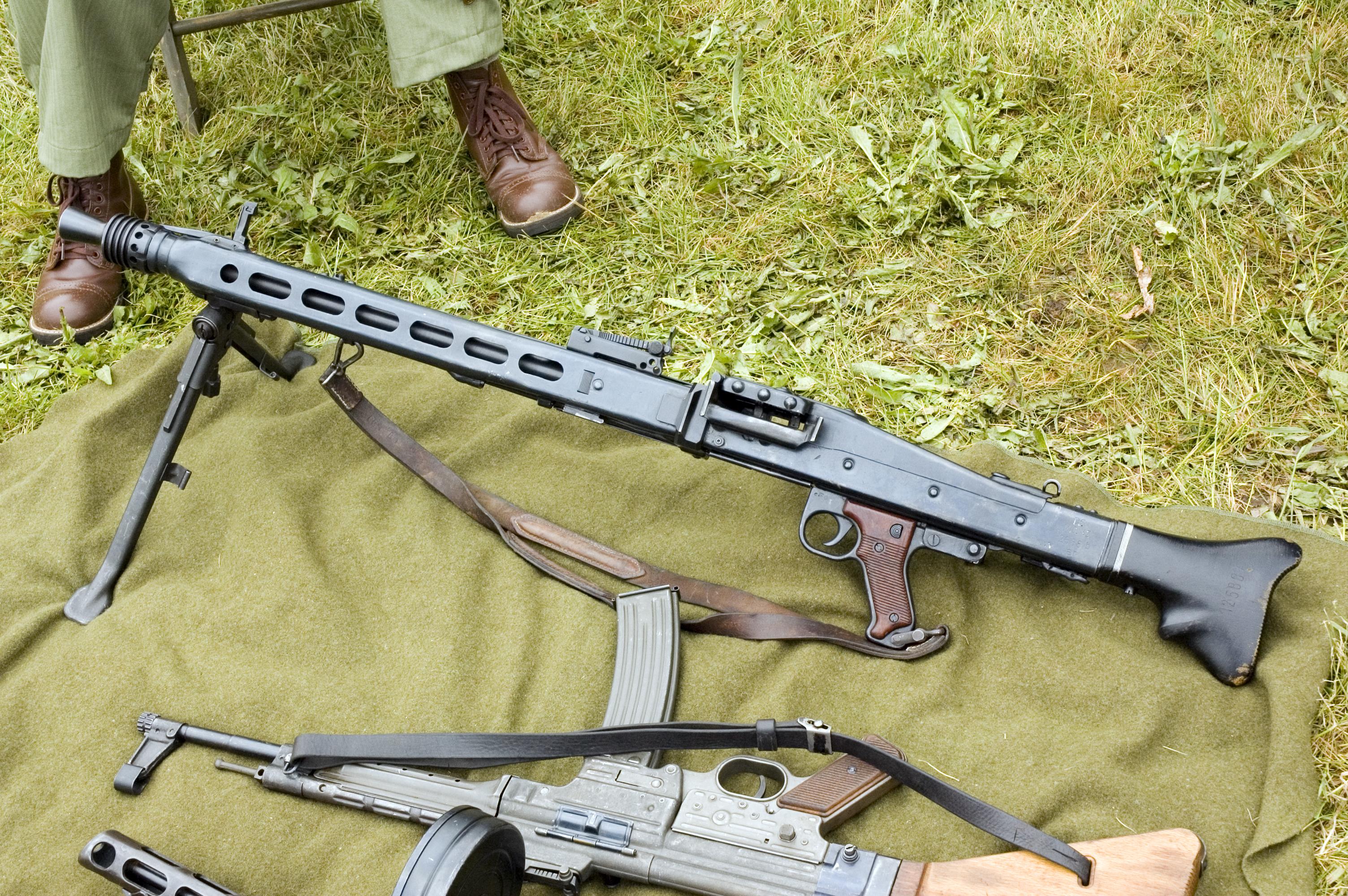 Немецкий пулемет мг 42 фото