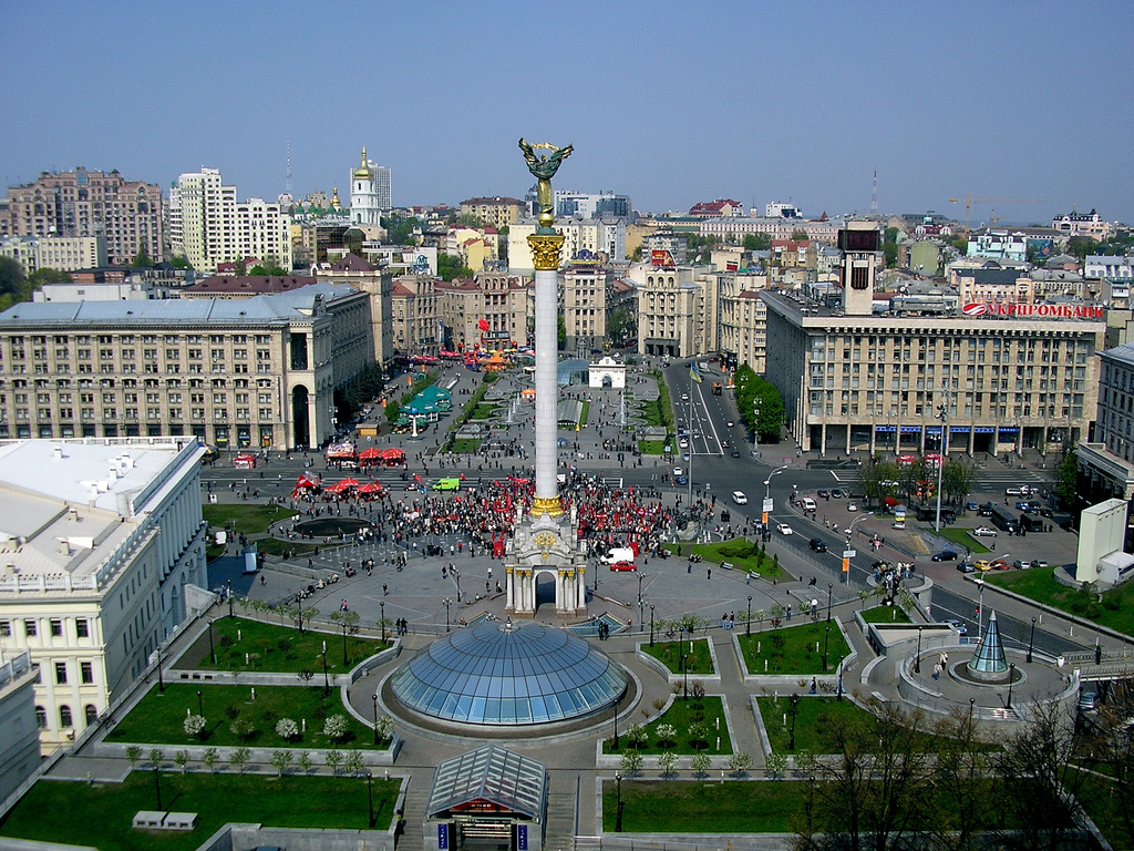Свинарник в Киеве.