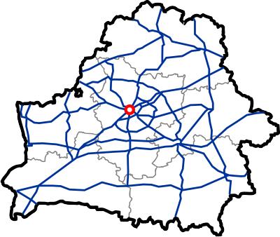 Схема магистрали М9