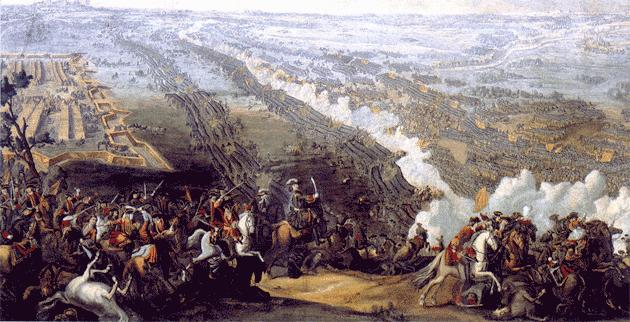 «Полтавская битва» (1726).