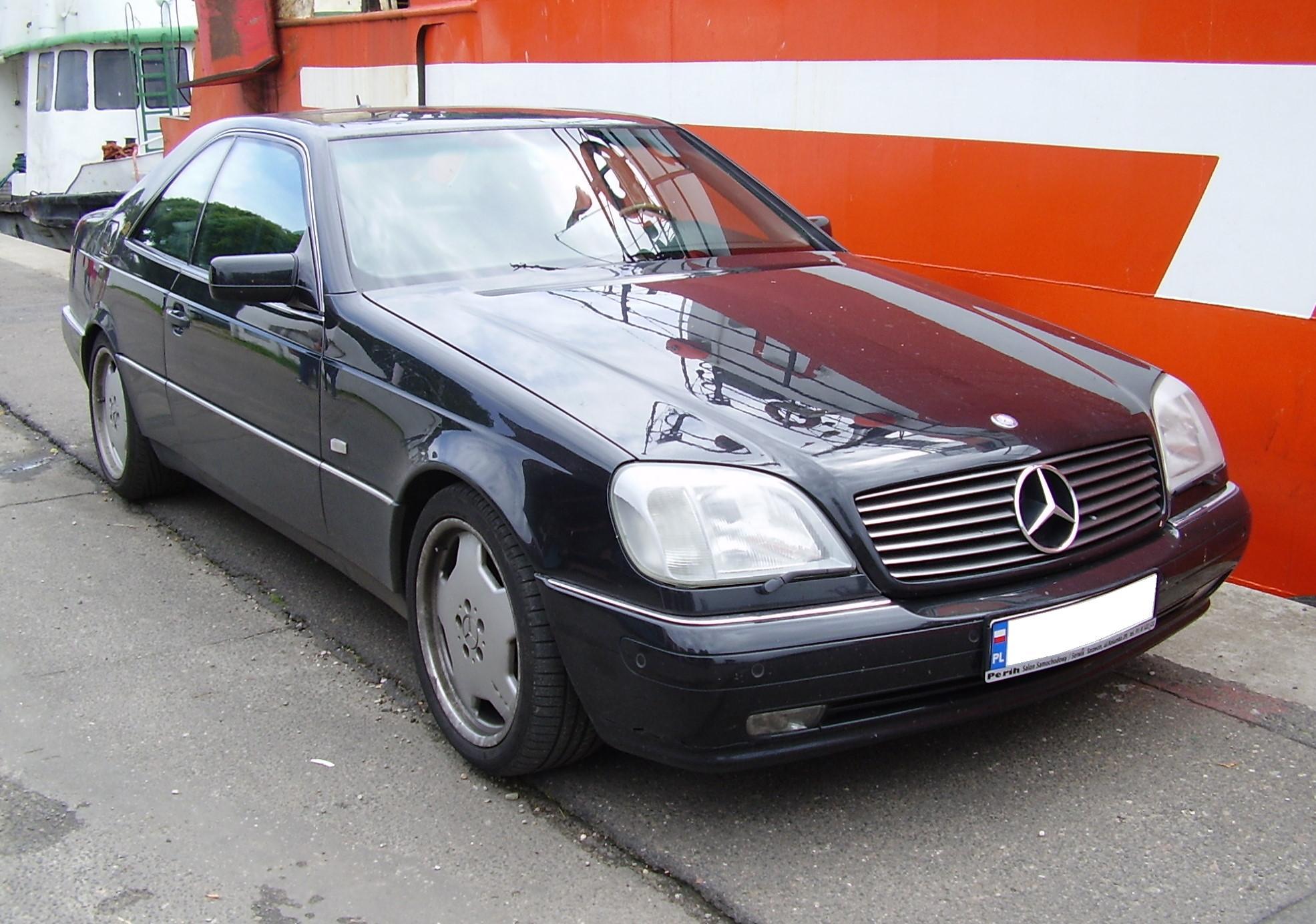 Mercedes Benz W140 это Что такое Mercedes Benz W140