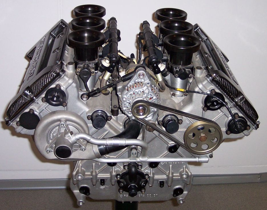 Двигатель Mercedes V6