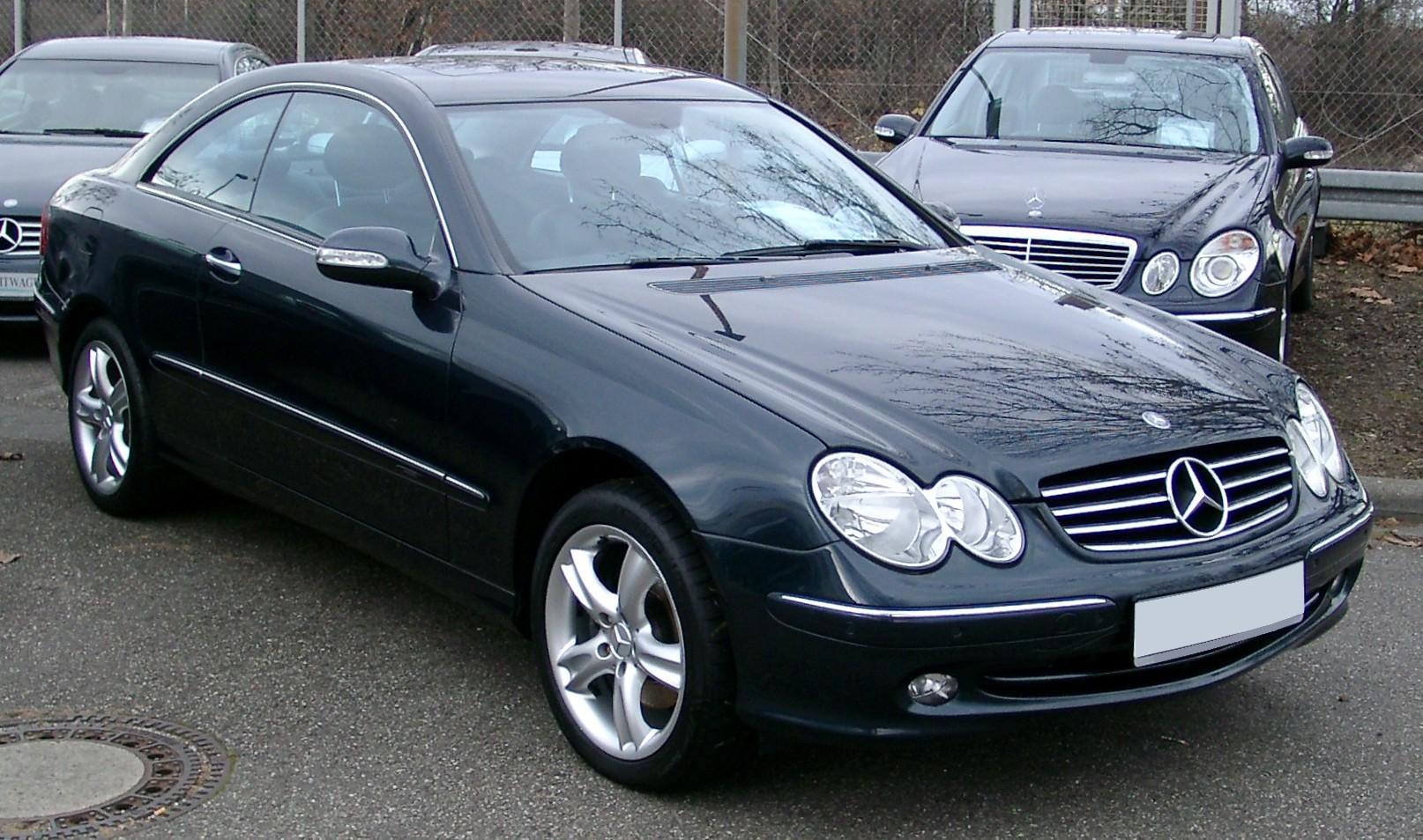 Mercedes Benz W209 это Что такое Mercedes Benz W209