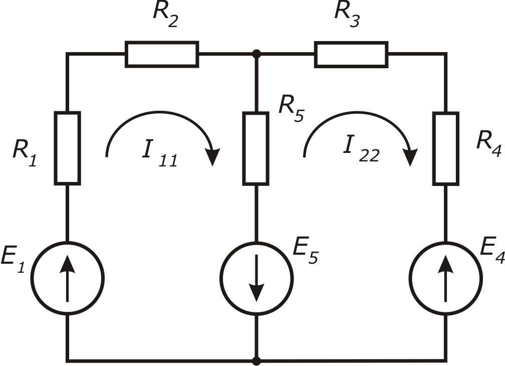 Метод контурных токов