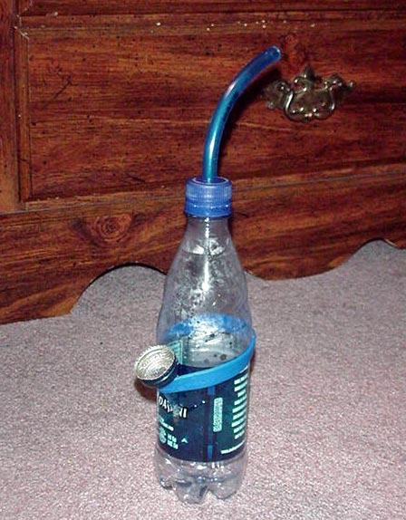 Как сделать вантуз своими руками из бутылки