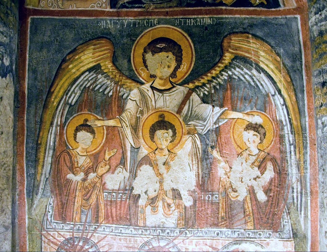 Αποτέλεσμα εικόνας για святые три отрока Анания, Азария и Мисаил