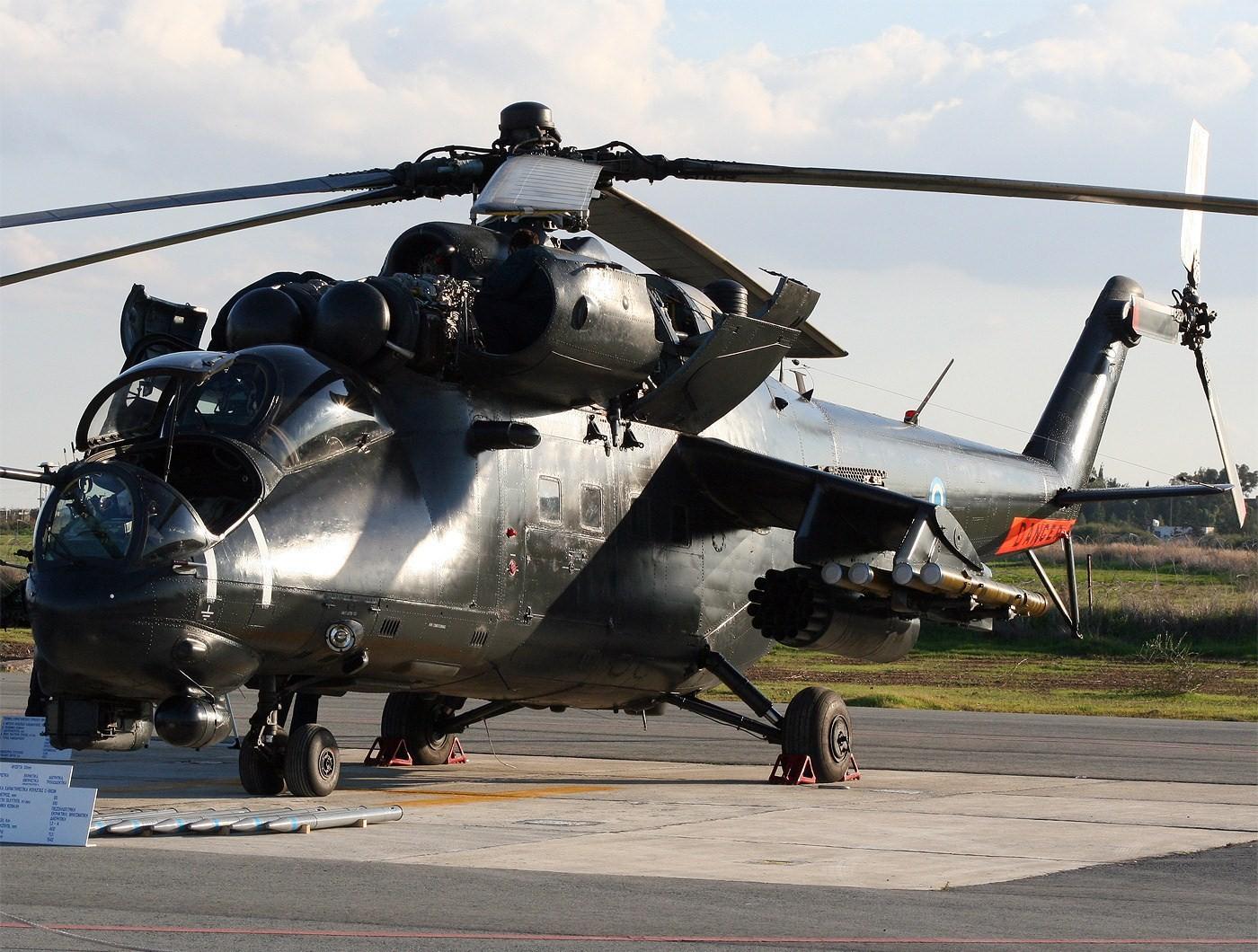 Обои ГШ-30К, ВВС Нигерии, Модернизированный вариант Ми-24, Ми-35П, Ударный вертолёт, экспортный вариант Ми-24П. Авиация foto 12