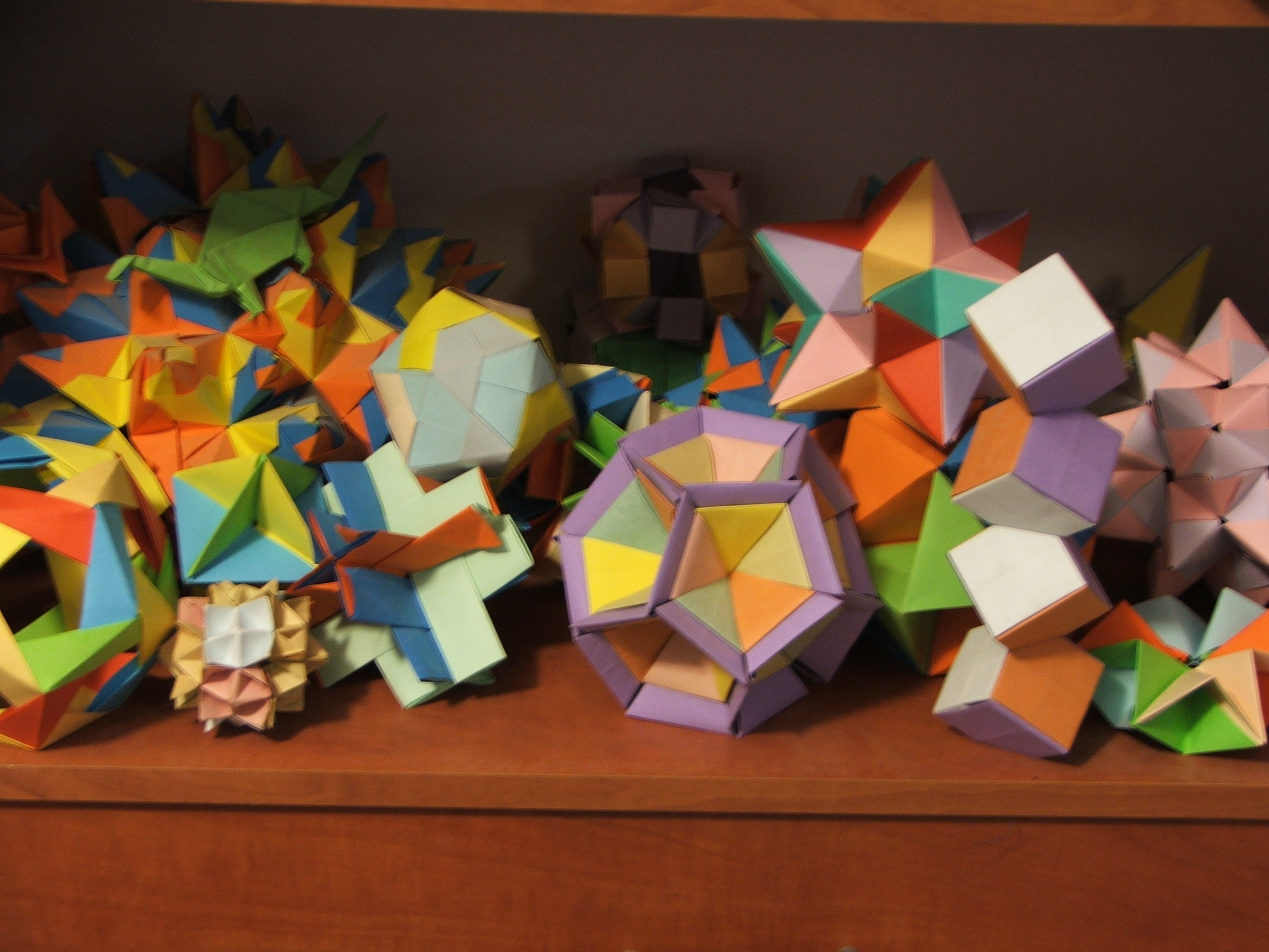 модульное оригами схема подставки