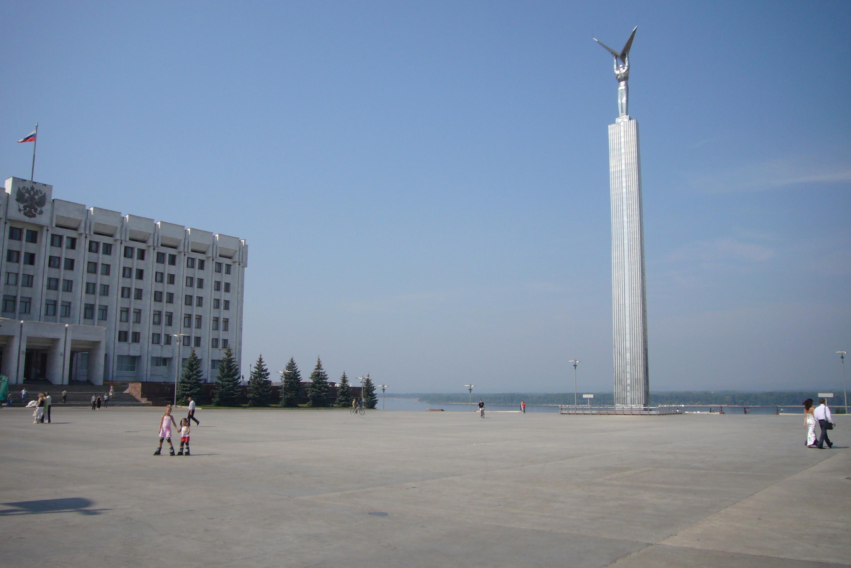 Площадь славы самара памятник недорогие памятники москвы центре