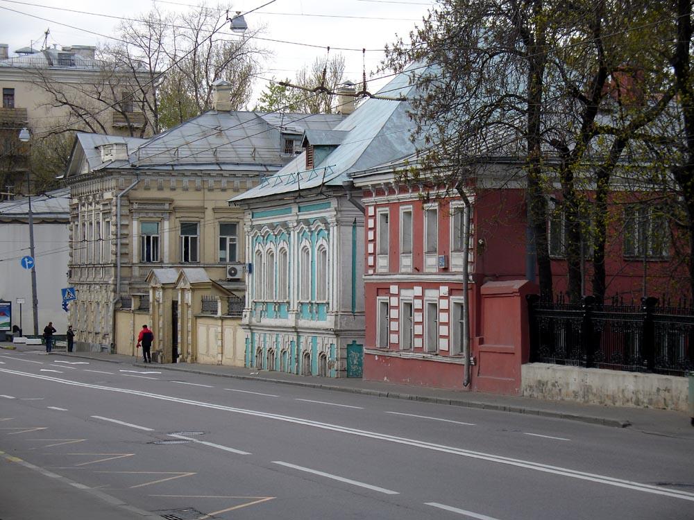 старые улицы москвы фото