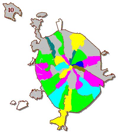Схема Москвы, 1988 год