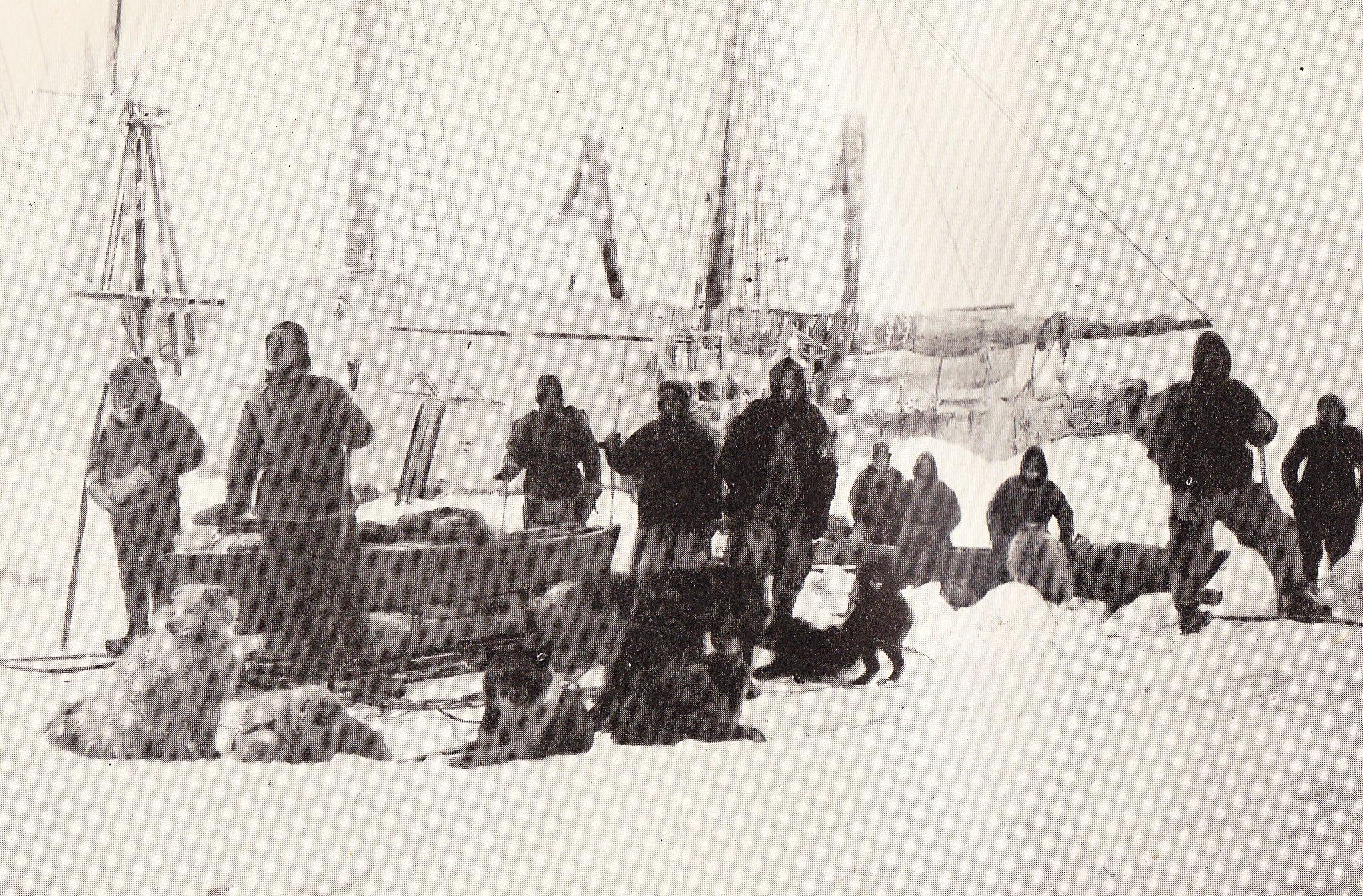 фотографии русские исследователи арктики этот зал