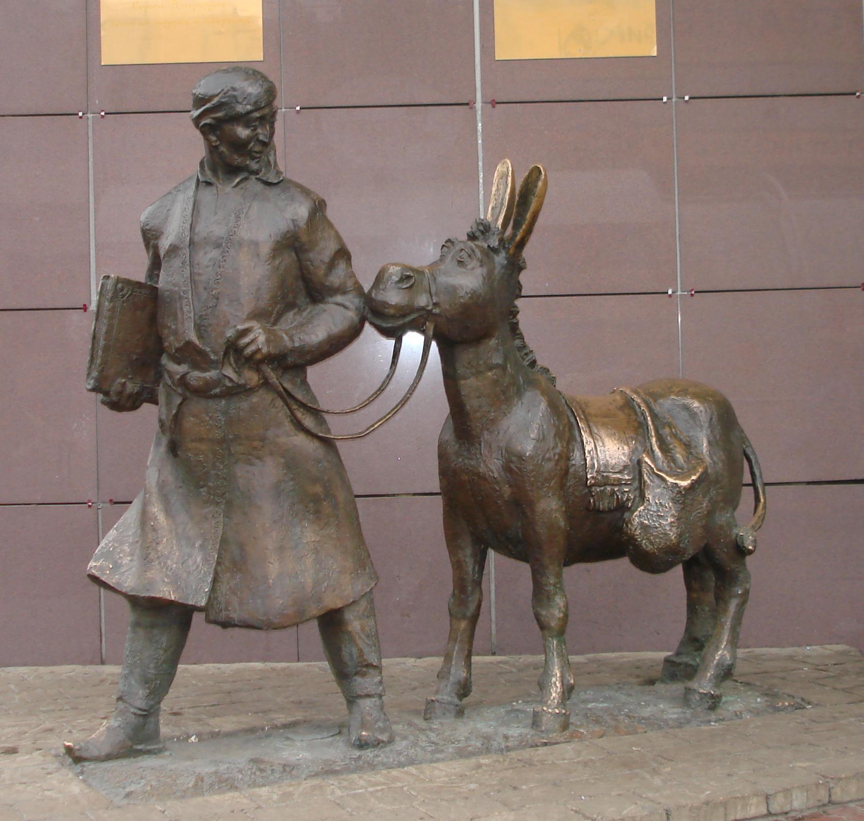 Памятник ходже насреддину в москве