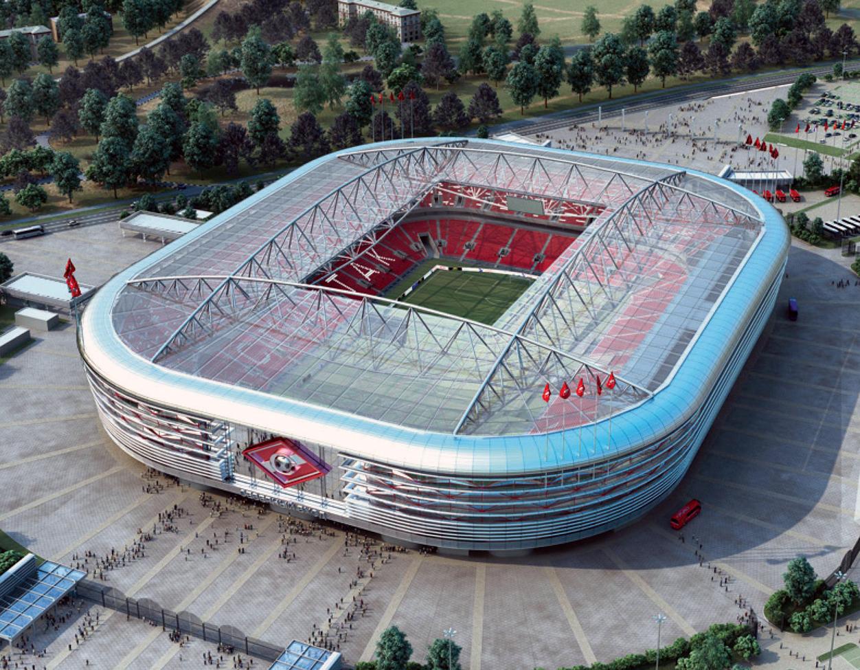 Архитектурная модель стадиона