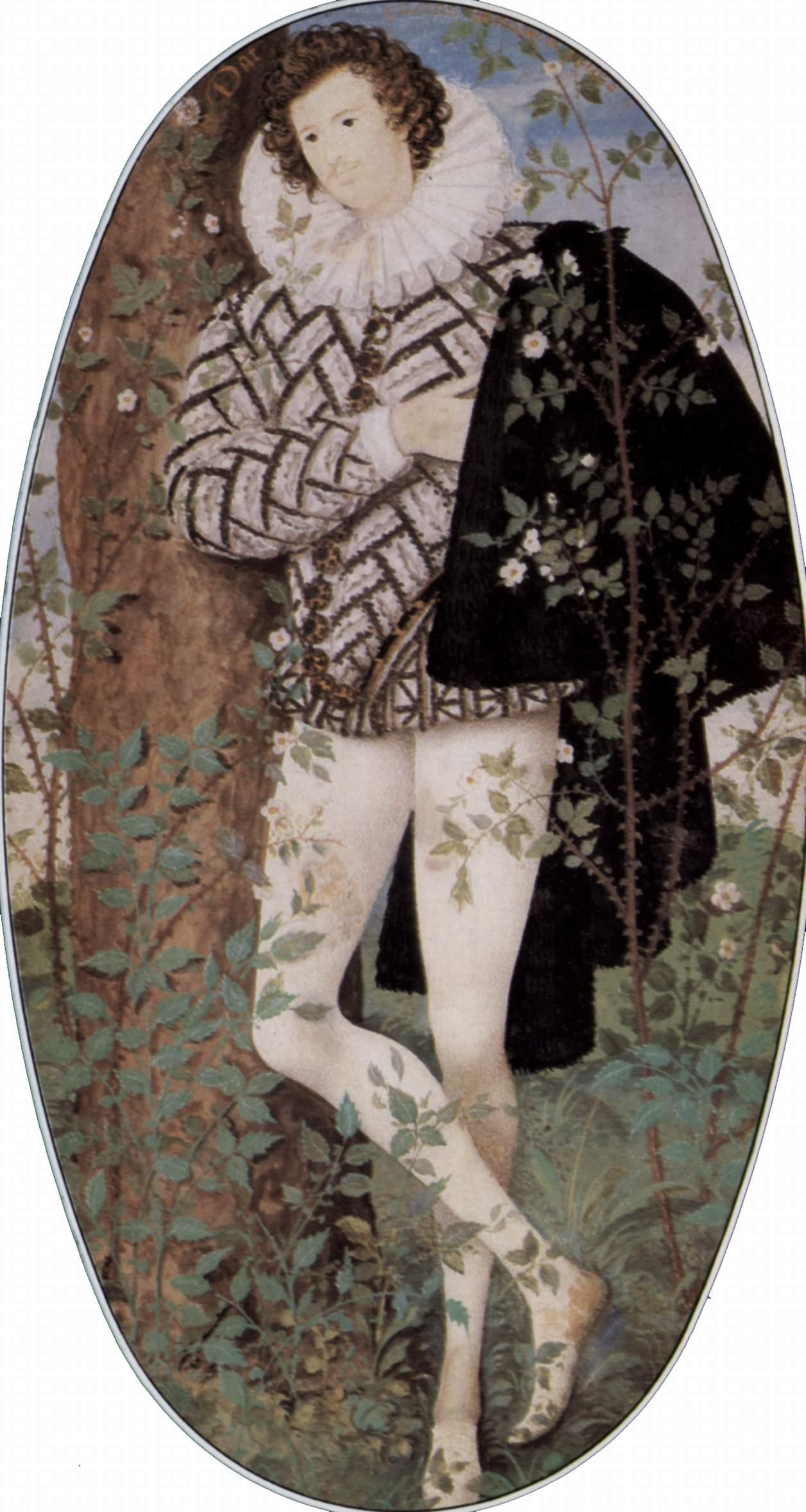 Юноша в кустах 2 фотография