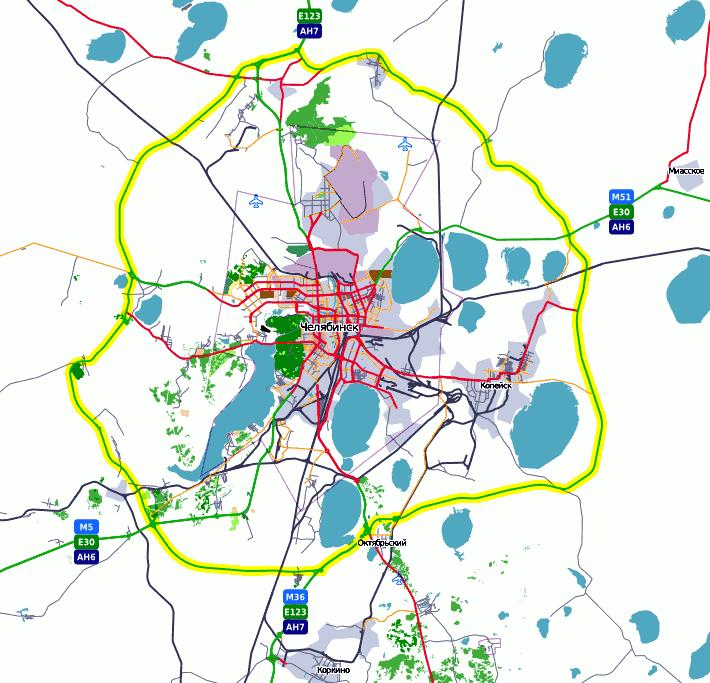 На карте thumb