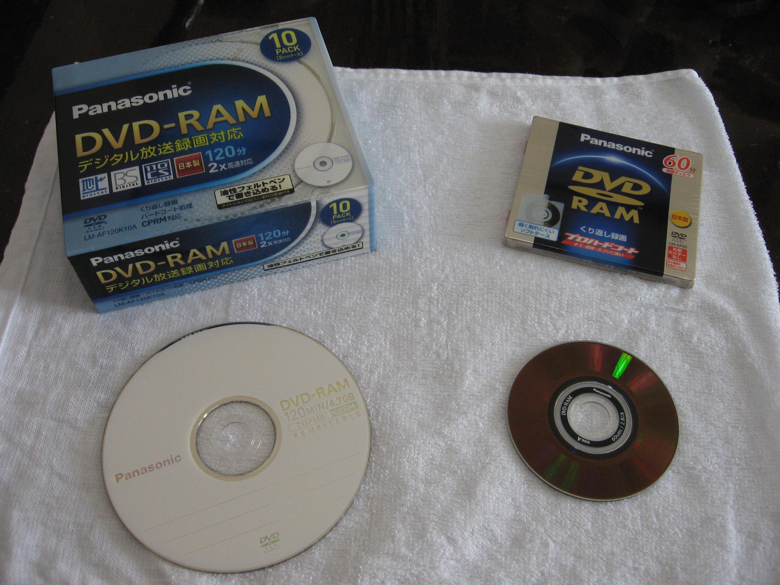 dvd проигрыватель ram: