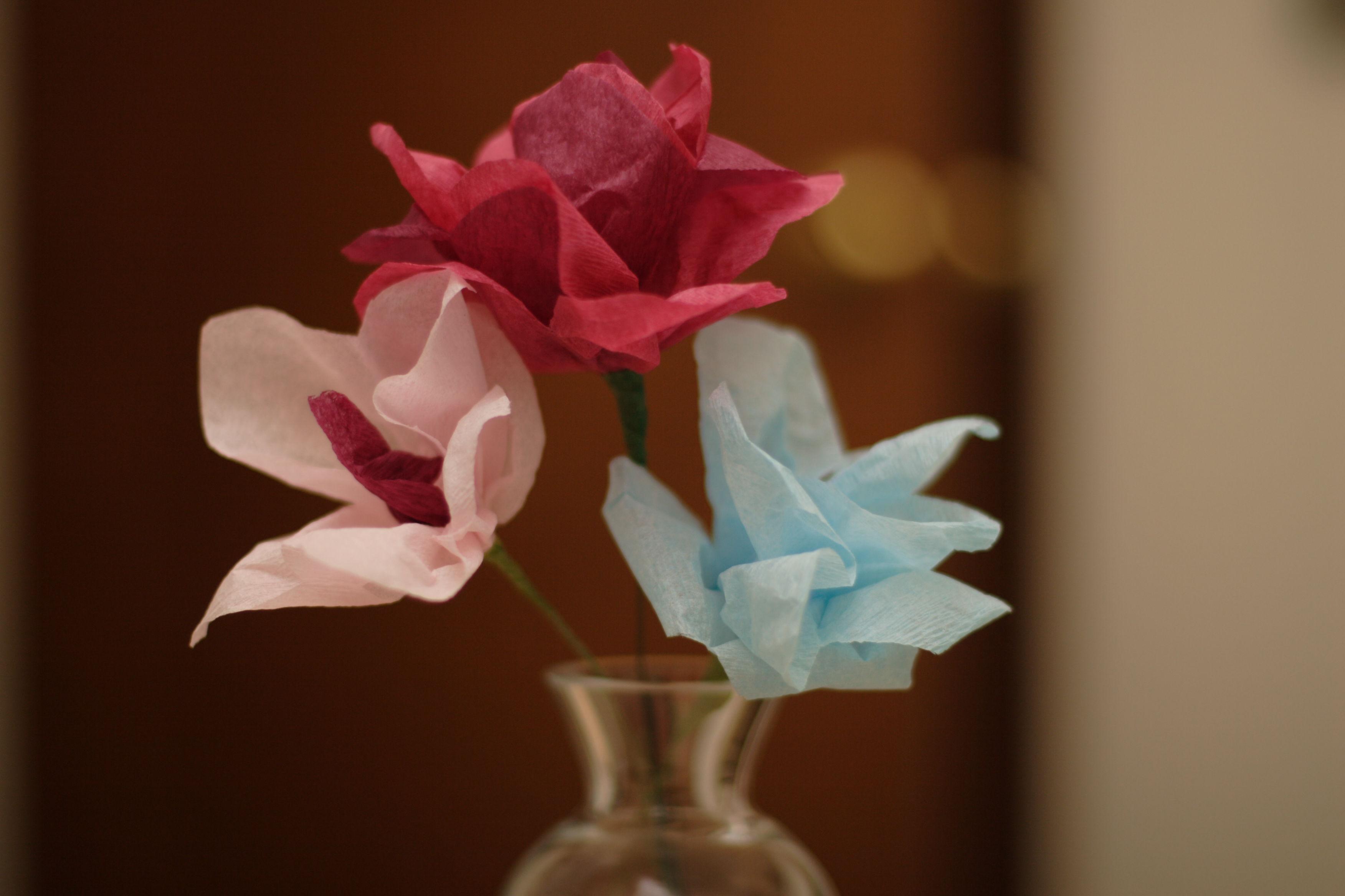 Искуственные цветы сделанные своими руками