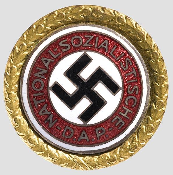Золо�ой па��ийн�й знак НСДАП ��о Ч�о �акое Золо�ой