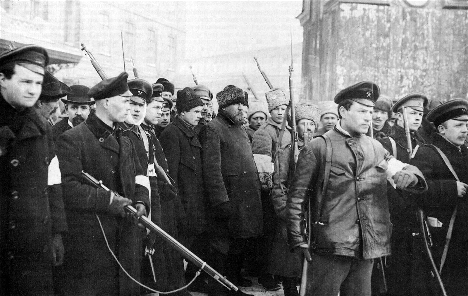 Смена власти в россии в 1917 1918 годах