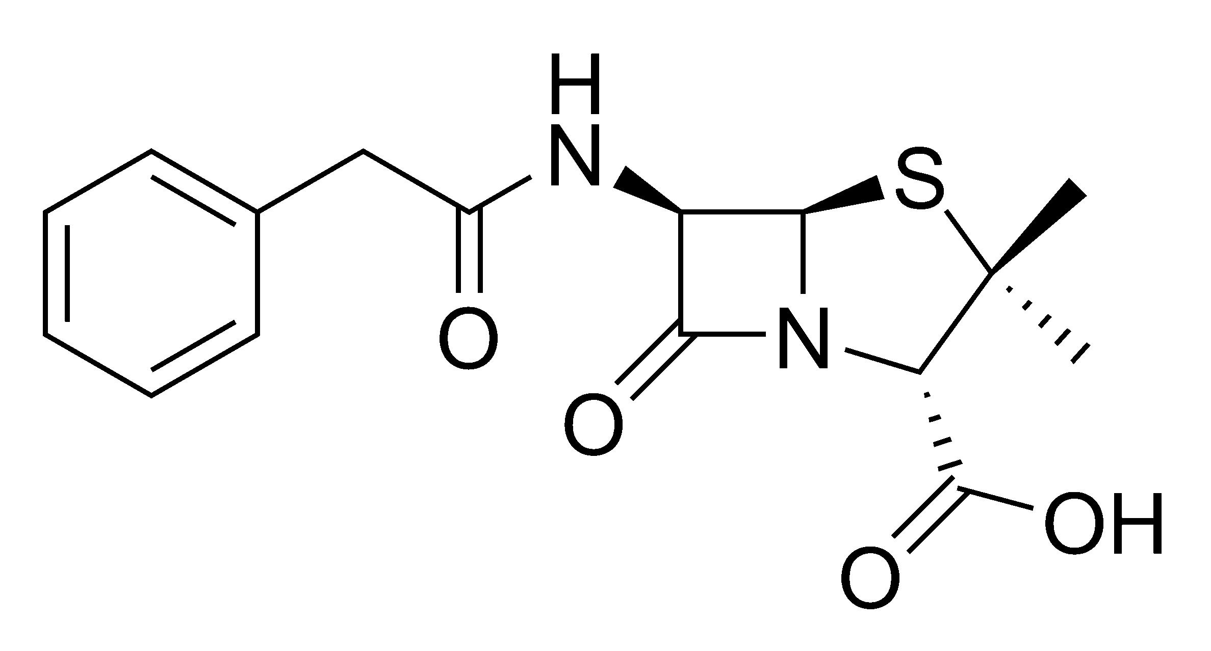 Пенициллина G Hoboкаиновая Соль