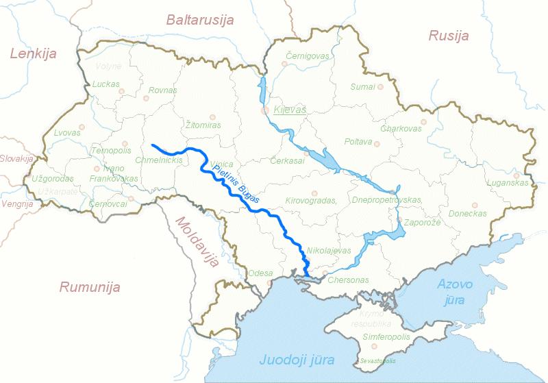 Список рек украины