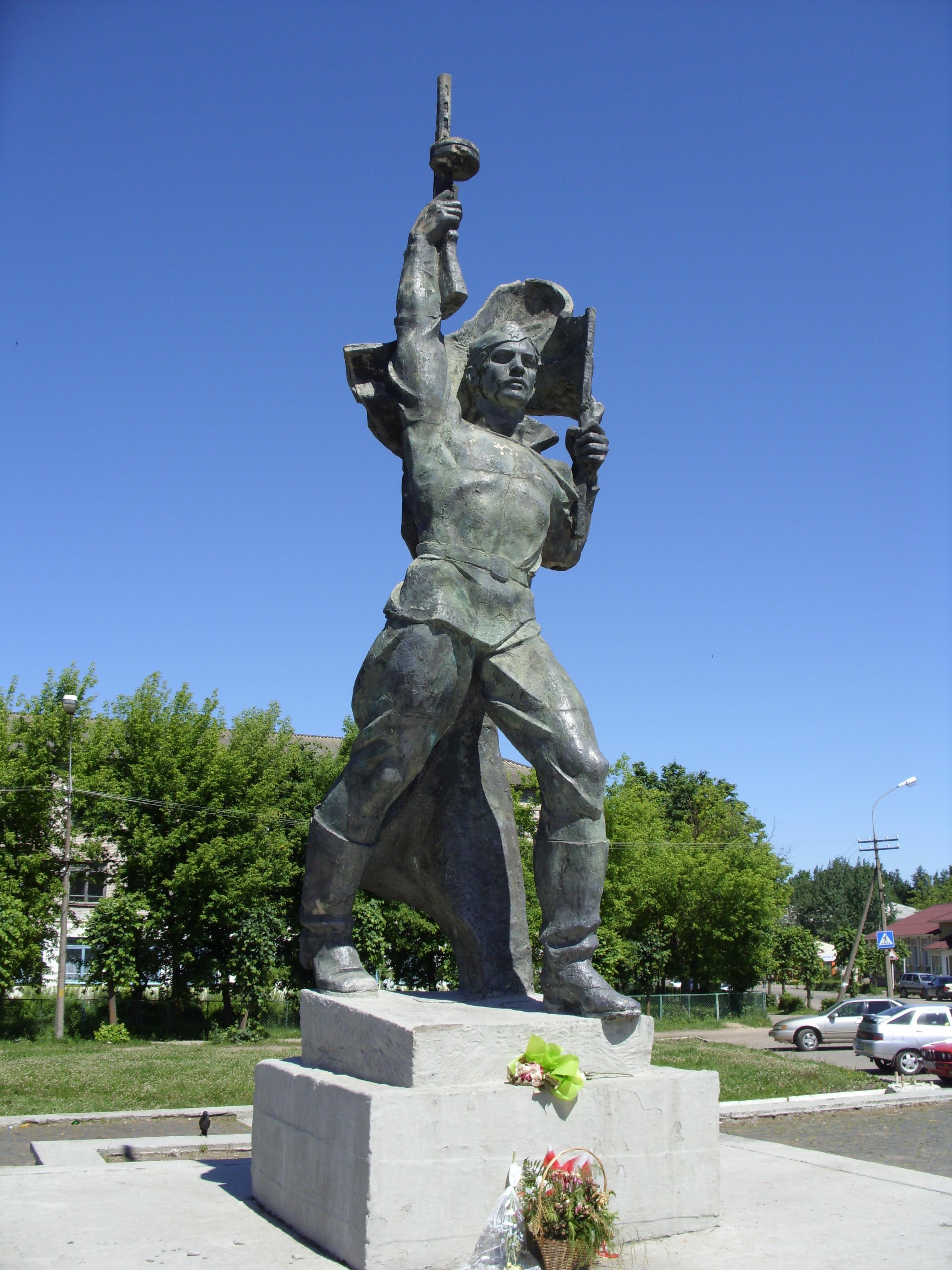 Купить памятник на кладбище Пустошка надгробие луи де брезе