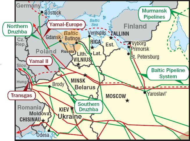 Балтийская трубопроводная