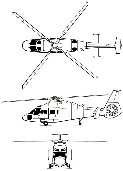 Три проекции Ка-60