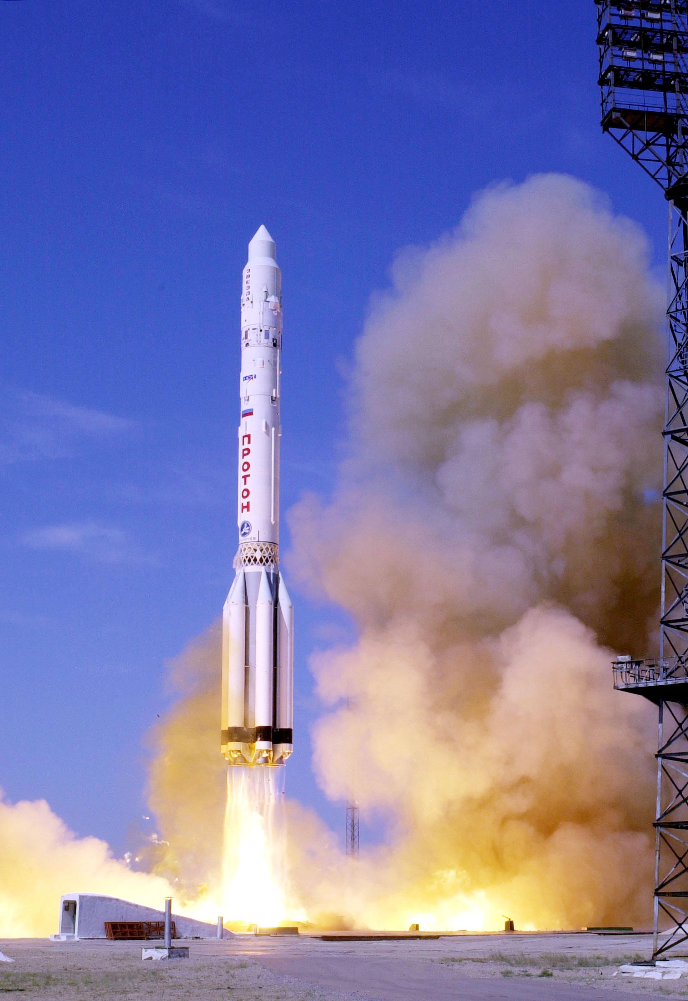 Запуск ракеты в космос ( Launching rocket into space