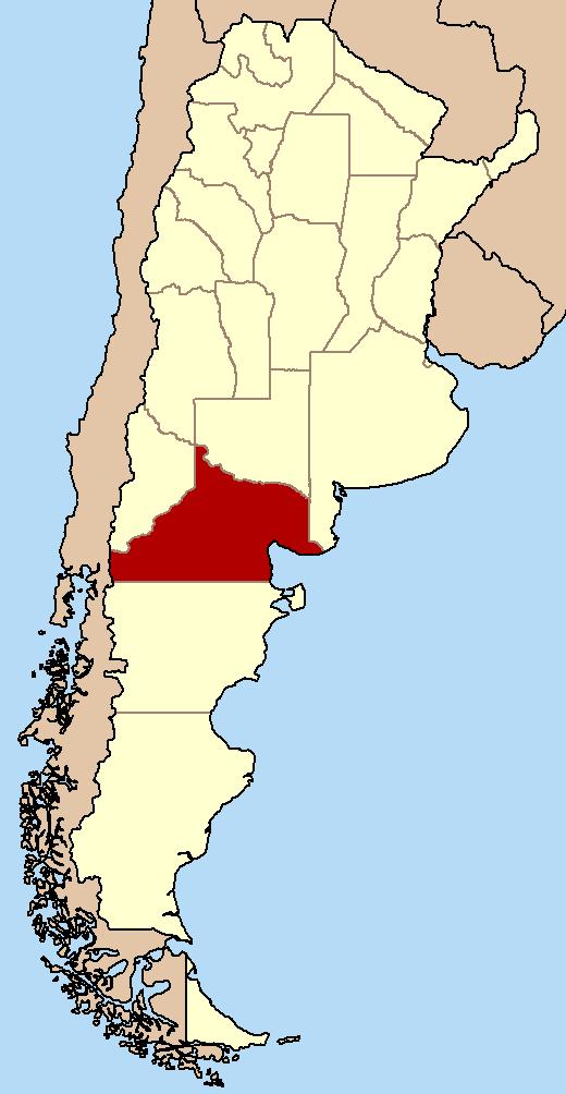 Рио негро на карте россии