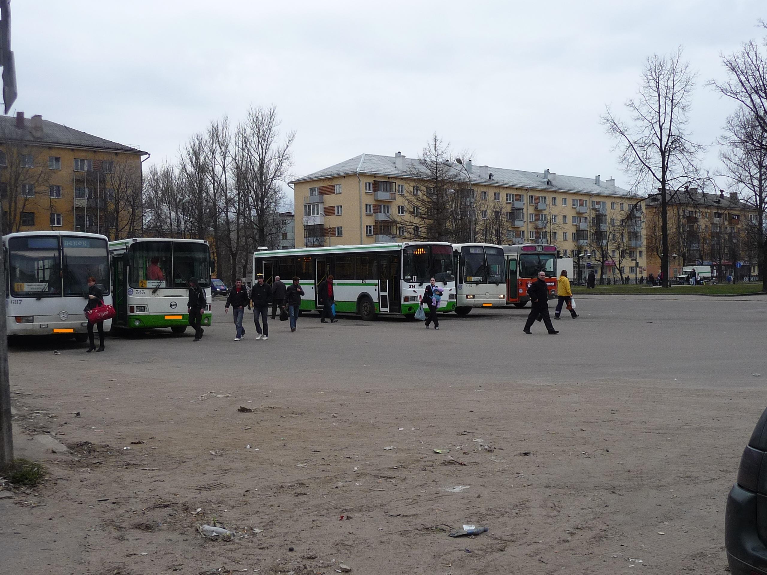 Расписание транспорта Тосненского района