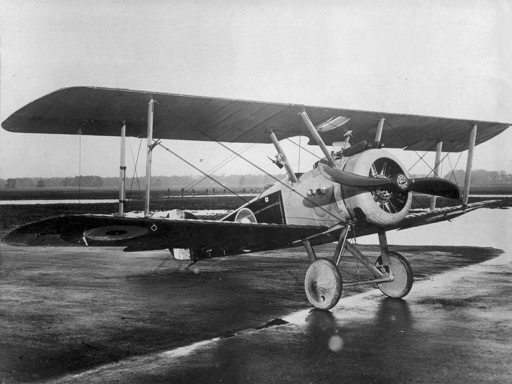 Обои самолёт-разведчик, Royal aircraft factory, английский, r.e.8. Авиация foto 9