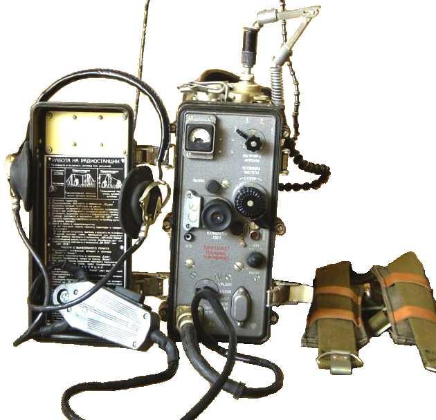 Р-105М. Радиостанция
