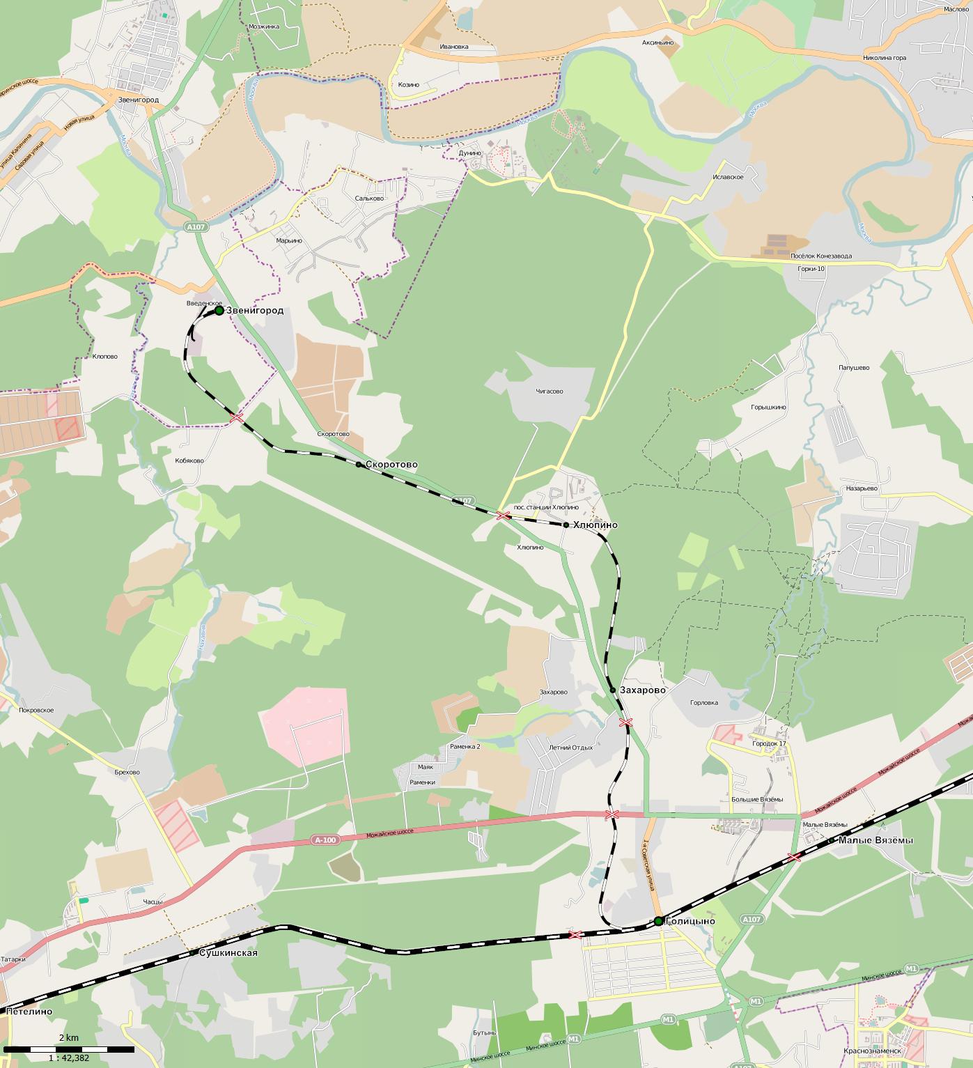 Схема метро звенигород