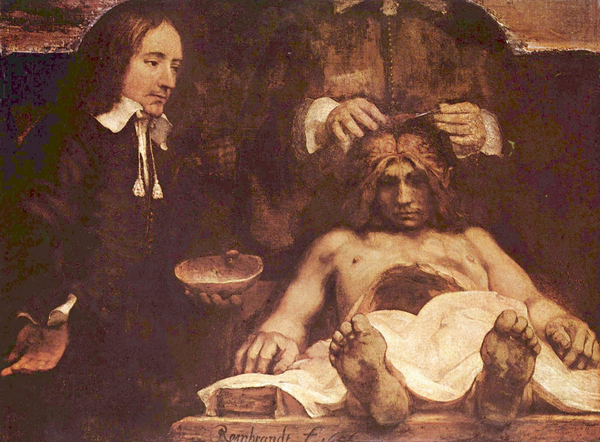 Funky The Anatomy Lesson Of Dr Nicolaes Tulp By Rembrandt ...