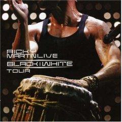 Обложка альбома «Black&White Tour» (Рики Мартина,2007)