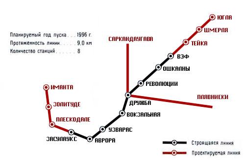Рижский метрополитен