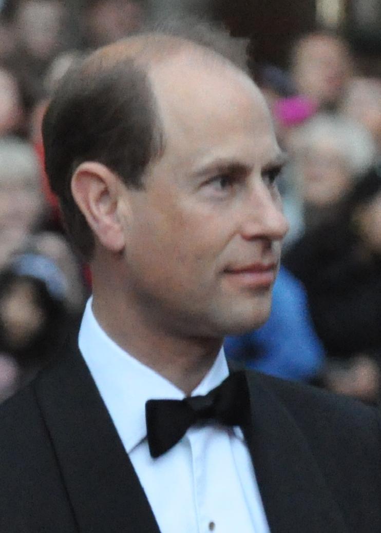 Принц эдуард граф уэссекский
