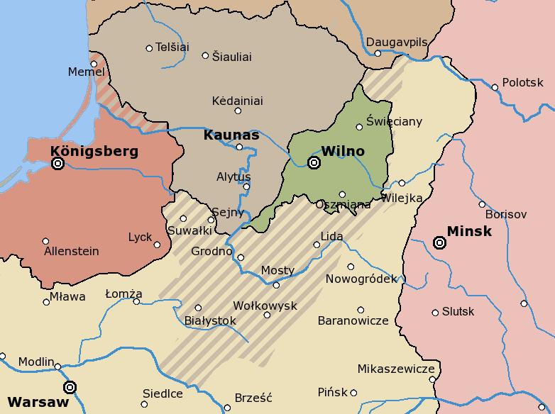 Литва и польша после первой мировой
