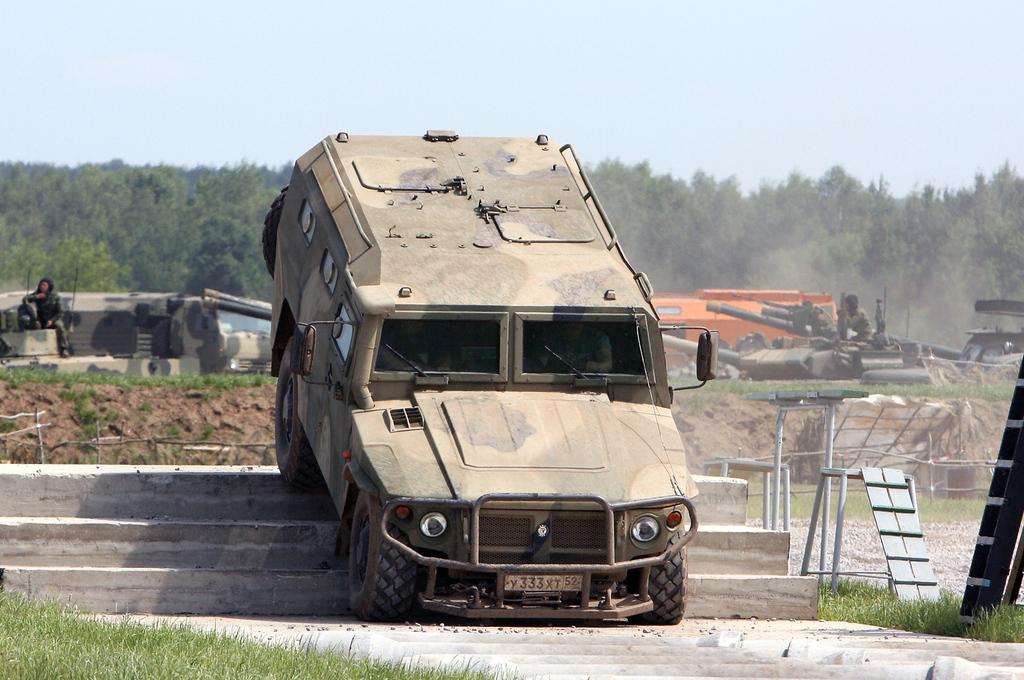 Новая модернизация «Тигра»: российский спецназ вооружился «Абоим – Абанатом»
