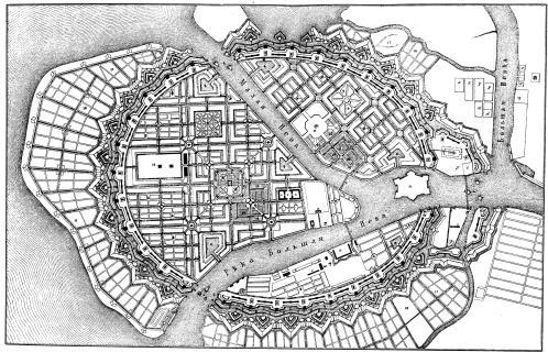 Генеральный план 1717 года,
