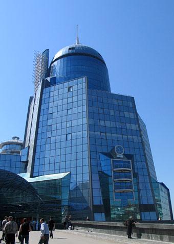 Самарский вокзал, главный вход
