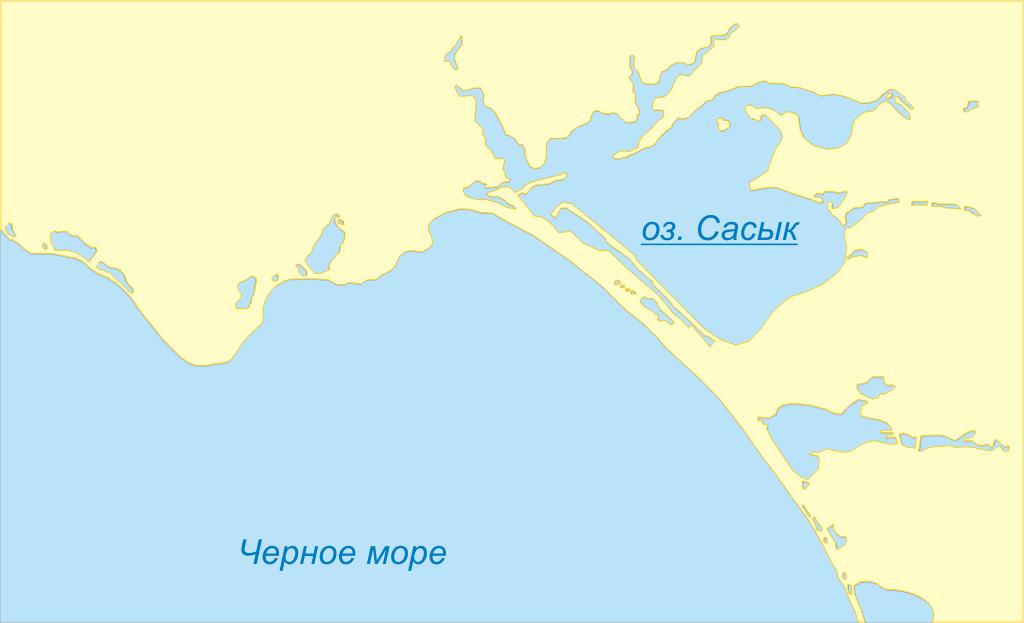 Озёра Крыма по группам