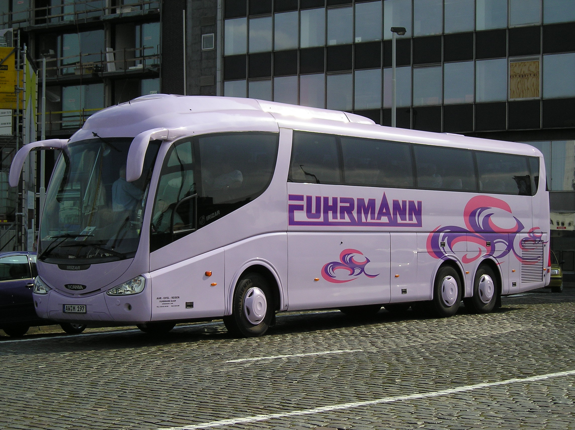 автобус скания фото