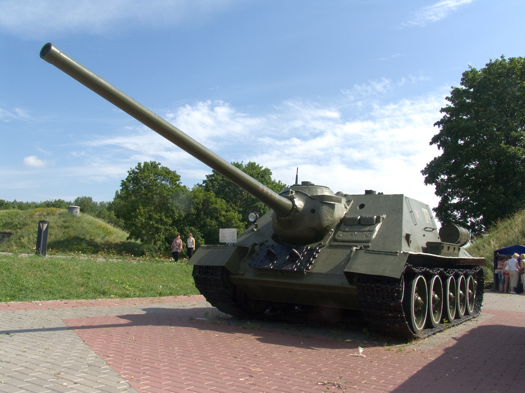 Советский истребитель танков су 100